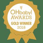 OHbaby Awards Icon GOLD