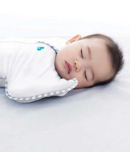 Love to dream slaapzak slapende baby
